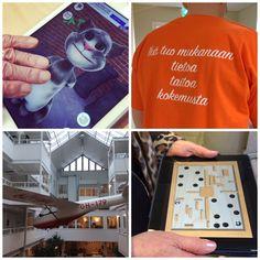Vierailimme Tampereella Likioma-projektin Hypistelyhetkessä. Teemana oli Tabletit ja tietokoneet hyvinvoinnin tukena (17.2.15).