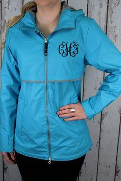 Charles River Women's New Englander Wave Rain Jacket #5099 *Customizable!