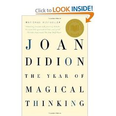 I read this book when my dad died. Joan Didion is a great author who shares her loss. I recommend this book to anyone. It helped me with the loss of my dad.