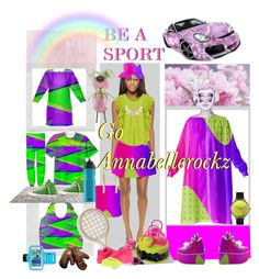 """""""Be a sport, go Annabellerockz ;)"""" by annabelle-h-ringen-nymo ❤ liked on Polyvore featuring Parker, Chicnova Fashion, Shlomit Ofir, Longchamp, Converse, SIGG, Marco Bicego, NIKE, Whimsical Watches and shoes"""