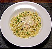 Spaghetti in Gorgonzola - Lachs - Sauce