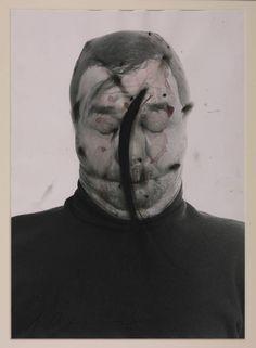 Arnulf Rainer - A Nose Adjustment (Face Farce), 1971 Untitled (Face Farce) 1970-71