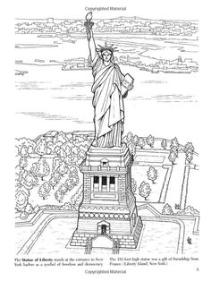 Historic American Landmarks (Dover History Coloring Book): A. G. Smith: 9780486444895: AmazonSmile: Books: