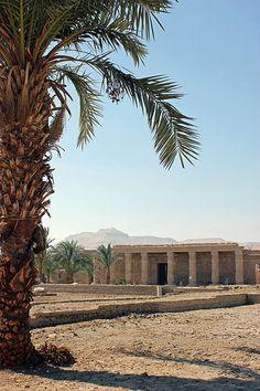 Qurna - Temple of Seti I  Egypt