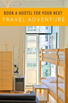 Booking hostels for