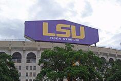LSU Stadium Louisiana Tourism, Louisiana State University, Lsu Tigers, Baton Rouge
