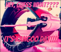 Every day is Kangoo Jumps day...