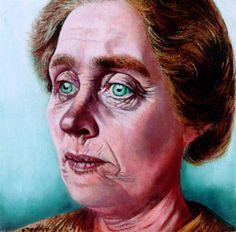 1937-1941 portret van mevrouw Trijntje Klomp-Zult