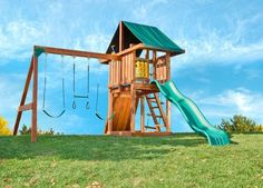 Хорошая детская площадка позволит вам больше времени уделить своим делам