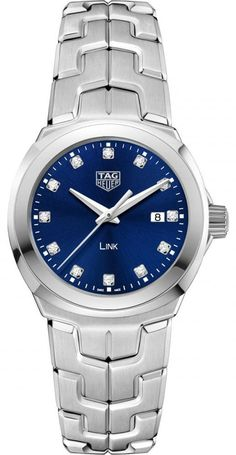 @tagheuer  Watch Link Quartz Lady Pre-Order #basel-17 #bezel-fixed #bracelet-strap-steel #brand-tag-heuer #case-material-steel #case-width-32mm #date-yes #delivery-timescale-call-us #description-done #dial-colour-blue #gender-ladies #luxury #movement-quar