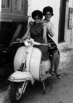 Lambretta in Greece 60's