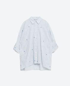 Image 6 of OVERSIZED SHIRT from Zara