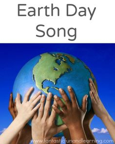 Earth Day Song for Preschoolers, plus more Earth Day activities