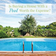 Great read if you're debating on buying a pool! Via @ reluctant landlord #pooldecisions