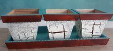 Weiteres - Holz-Kräutertöpfe  - ein Designerstück von Kreative-Fantasy bei DaWanda Shops, Kraut, Designer, Fantasy, Storage, Home Decor, Eten, Purse Storage, Homemade Home Decor