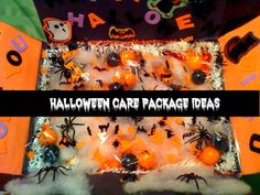 Al list of articles with Halloween Care Package Ideas