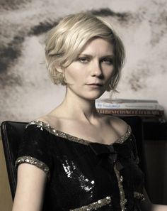 why yes, it is helpful to look up hairstyles and even makeup tips for becca via Kirsten Dunst.