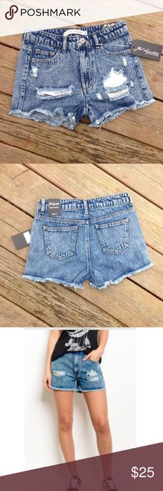 "🆕 Denim ""Ripped"" Shorts Warm weather staple! Material: 100% Cotton. Price is firm unless bundled.  😊 JW Signature Shorts"