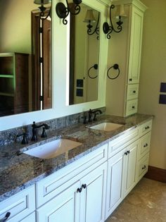 colonial creme bathroom vanity install for the koontz family knoxvilles stone interiors showroom located at 3900 middlebrook pike knoxville tn