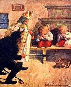 Krampus and kids