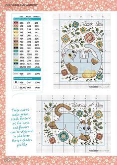 Cat Cross Stitches, Counted Cross Stitch Patterns, Cross Stitch Designs, Cross Stitching, Cross Stitch Embroidery, Cupcake Cross Stitch, Cross Stitch Heart, Cross Stitch Alphabet, Cross Stitch Animals