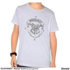HOGWARTS™ Banner Crest T Shirts
