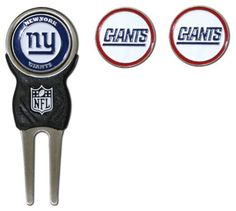 NFL New York Giants Signature Divot Tool and 2 Extra Markers by Team Golf. $16.99. NFL New York Giants Signature Divot Tool and 2 Extra Markers