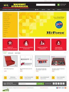 Waveney Hydraulics Ltd distributor for the Hi-Force range of hydraulic tools  #Suffolk UK