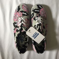 Eley Kishimoto Vans Women's size 6.5. Limited edition. Brand new with tags, comes with original box. Vans Shoes Sneakers