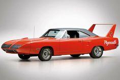 1970 Plymouth Roadrunner Superbird.