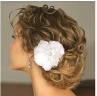 curly updo?