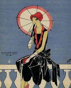 Art Deco Fashion. @designerwallace