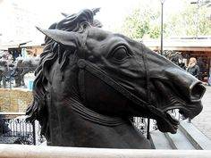 Horse statue at Camden Stables Market