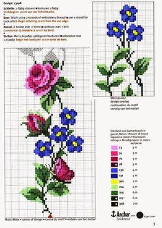 Boa tarde, adoro bordar flores, de todos os tipos, rosas e tals, hj resolvi postar alguns dos que mas gosto e alguns até ja bordei...       ...