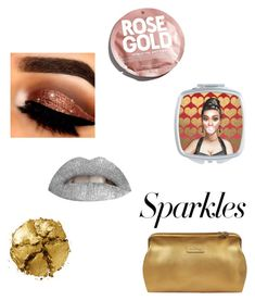 """""""#PolyPresents: Sparkly Beauty"""" by encsikee on Polyvore featuring beauty, Pat McGrath, Lipault, Urban Outfitters, contestentry and polyPresents"""