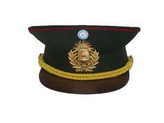 Gorra de oficiales subalternos de Ejército Argentino / Argentine Army junior officers' visor cap