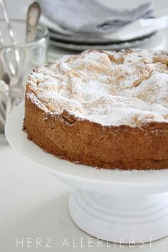 an old German recipe of Apfelkuchen- Apple cake - find German recipes in English mybestgermanrecipes.com