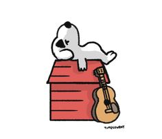 draw a dog tuesday: peanuts X animal crossingedition.