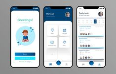 Task Management ui designed by Dhananjaya Marasinghe. Connect with them on Dribbble; Ui Design Mobile, App Ui Design, Design Design, Design Thinking, Design Innovation, Android Tutorials, Android Tricks, Android App Design, Android Technology