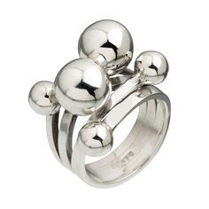 CANYON sterling silver ring - ORIEULT JEWELLERY DIFFUSION