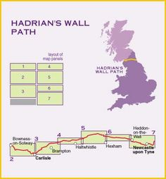 The Hadrian's Wall Path is a footpath in the north of England. It runs for 84 miles from Wallsend on the east coast of England to Bowness-on-Solway on the west coast. The reason for the wall's construction is disputed. Many believe it was to keep the barbarians and the Romans separate. Others surmise that it was an act of defense before expansion.