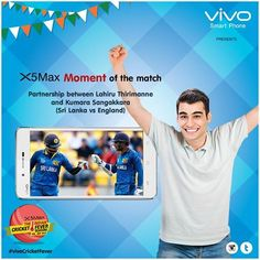 Choose your Moment of the Match and share using #vivoCricketFever