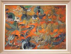 Alexey Krasnovsky Painting Nocturne in Orange Mexico Nocturne, Mexico, Orange, Gallery, Painting, Art, Pintura, Art Background, Roof Rack