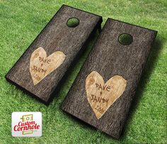 From weddings to promoting your business, the possibilities are endless! Find all your customized cornhole products at Custom Cornhole, LLC. We have wraps, decals, bags and more!