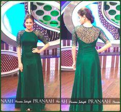 Indian evening Fashion #pranaah # poornima indrajith