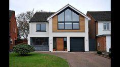 Bungalow Exterior, Exterior House Colors, Kitchen Extension Exterior, Dream Home Design, House Design, Bungalow Ideas, House Cladding, Chalet Design, Home Exterior Makeover