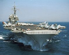 U.S.S. Kitty Hawk CV-63  (my step-father served on this ship)