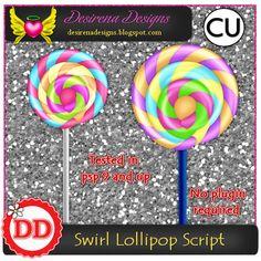 Swirl Lollipop script