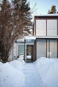 FINN Eiendom - Bolig til salgs / Planetveien architect Arne Korsmo / entrance Nordic Lights, Oslo, Interior And Exterior, Real Estate, House Design, Studio, Amazing, Heart Beat, Modernism