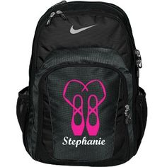 Stephanie dance bag  | An awesome dance bag. Great quality and many colours to choose from. Customize this bag by changing name, font, colour and pic.